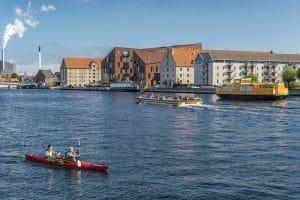 Aften City Tur i København med Kayak Republic